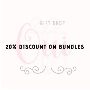 20% Discount on the purchase of 2 or more items 🌺